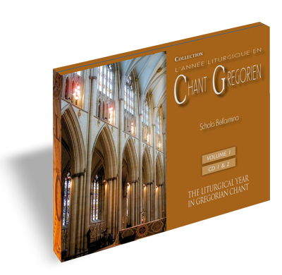 Chant grégorien : Temporal - Volume 1 (CD 1 et 2)