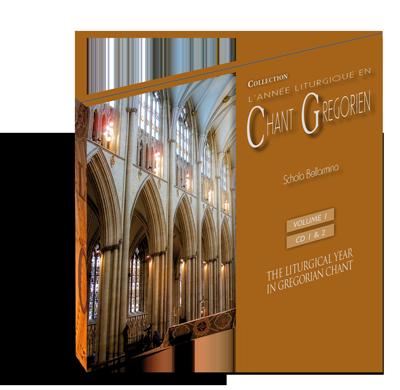 Chant grégorien: Temporal - Volume 1 (CD 1 et 2)