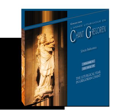 Chant grégorien: Temporal - Volume 9 (CD 17 - 18)