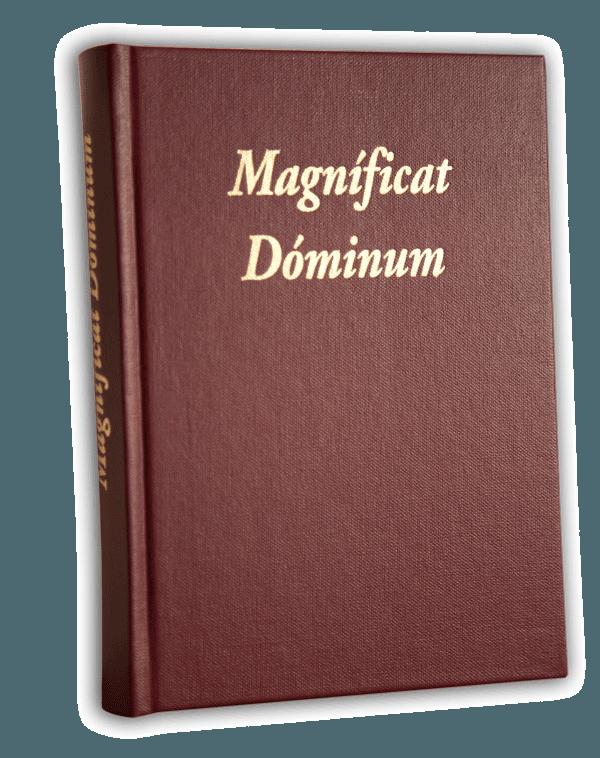 Livre De Chant Magnificat Dominum Sacra Musica