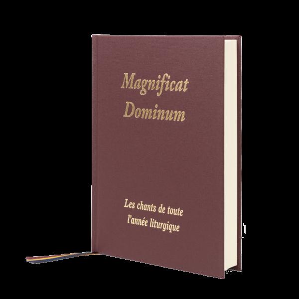 Couverture du livre de chant Magnificat Dominum