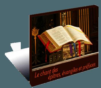 Epîtres, évangiles et préfaceds chantées