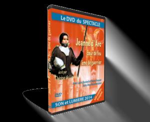 DVD du spectacle Jeanne d'Arc