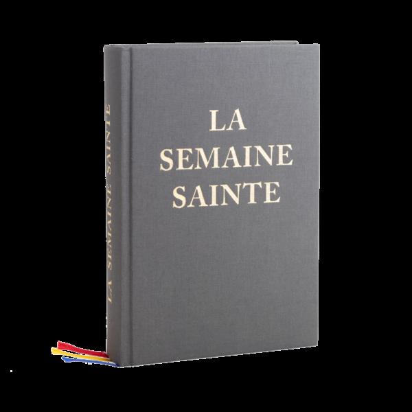 Couverture du livre La Semaine Sainte